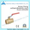 brass ball valve with nickel plated