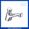 Time Delay Self Closing Chrome Brass Public Basin Faucet
