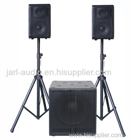 15 inch active sub and with satellites 2.1 active speaker system