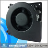 120mm dc blower fan low watt 12V 24V 48V cooling ventilation for equipment