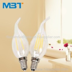 Filament led candle bulb