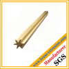 star shape brass extrusion profile rods