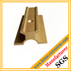 copper extrusion profile sections with holes