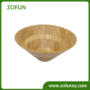 Hot selling bamboo salad bowl made of nature bamboo