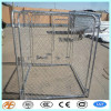 large outdoor galvanized chain link dog kennels