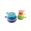 5 Pieces plastic airtight Storage Container Set with handle