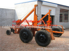 cable trailer cable drum table cable drum carriage