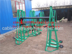 Cable Drum Jack Cable Drum Rotator hydraulic drum jack