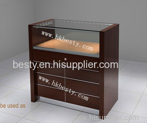 Jewelry retail shop cash counter design and cash counter table