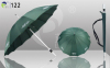 Straight Automatic Open Umbrellas Various Logos Aluminum Shaft and Handle 190T Pongee Fabric