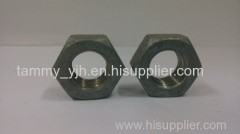steel with plain hex nuts