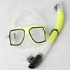 New rubber diving mask and snorkel set factory