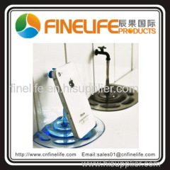Transparent Water Tap Faucet Desk Stand