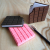 More colors for your selection Realistic Chocolate shape memo book