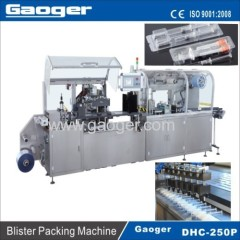Pre-filled Syringe blister packing machine