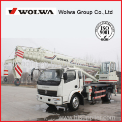 China 12 ton Hydraulic Mobile Truck Crane for Sale with low price