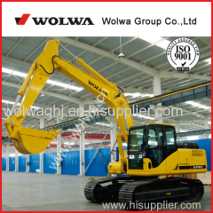 0.60m3 bucket china brand new wolwa 16 ton excavator