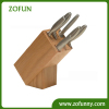 10-slots Bamboo knife block