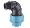 pp male elbow compression fittings with pn16