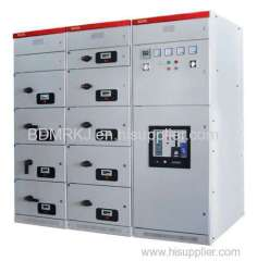 GCK 380v power distribution cabinet, draw-out 3150A/31.5kA circuit breaker panel, low voltage incoming cubicle