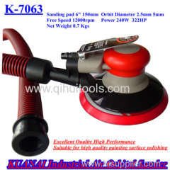 Central-Vacuum Industrial Composite Air Orbital Sander