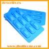 silicone ice cube mold with 9 car shape