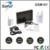 SMS remotely control IOS & Android app Support multi-language home security gsm alarm system