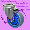 Roller container sandwich non-standard casters with big bolt hole