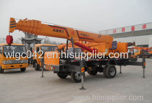 electric work truck crane