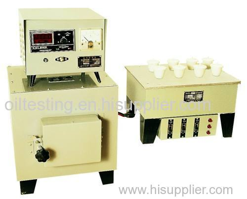 Ash Content Tester for petroleum products