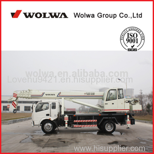 China truck crane High Quality Wolwa 12 Ton Truck Crane GNQY-C12