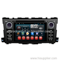 Dual Core Android In Dash Car Gps Navigation Device Nissan Teana 2014 Auto Central DVD Player