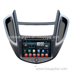 Factory Auto Entertainment System Chevrolet Trax 2014 Built In Car DVD Players Radio GPS / Glonass Navigation