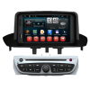 In Dash Car Media Navigation System Renault Megane 2014 / Fluence 2 Din DVD Player with Rearview Camera Input