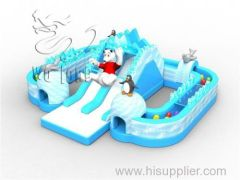 2014 newest commercial PVC igloo inflatable slide