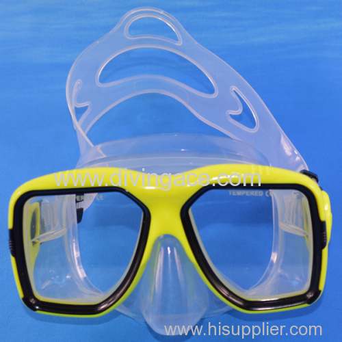 ODM tempered glass diving mask/scuba diving equipment