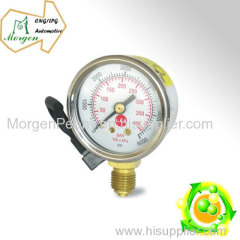 CNG automobile Pressure Guage with signal from high to low CNG Hall pressure guage