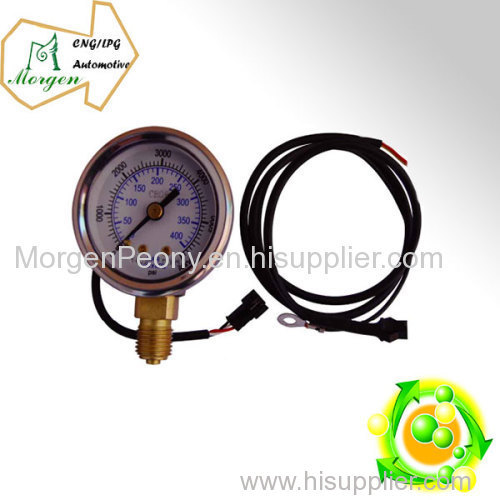 CNG auto photoelectric Pressure Guage with radial connection CNG pressure guage