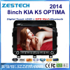 ZESTECH 2 din touch screen car dvd for 2014 k5 kia optima gps navigation