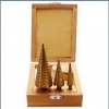 3 PCS STEP DRILL BIT SET
