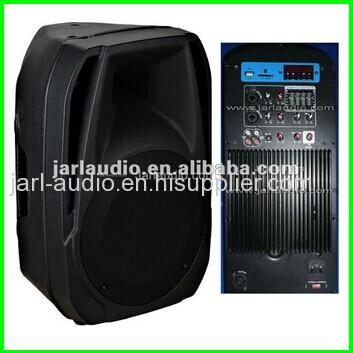 pa speaker with usb sd and lcd