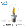 dimmable 5W E26 E27 B22 LED clear bulb