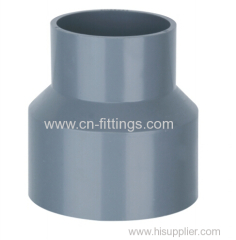 upvc reducing coupling pipe fittings/reducer fitting