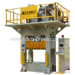 800 tons Deep Drawing Hydraulic Press for double bowl sink mold