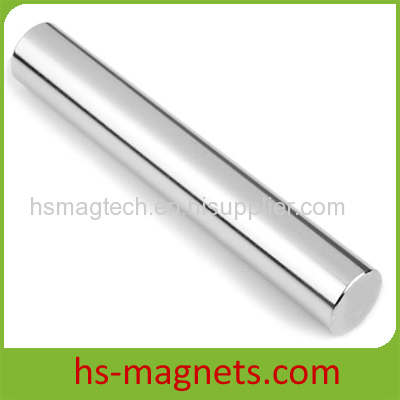 Long Stick Permanent Cylinder Neodymium Magnet