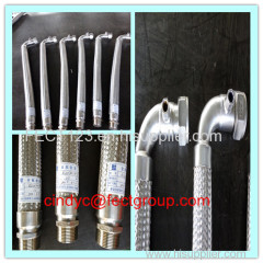 SS flexible metal hose assemblies/extendable flexible hose