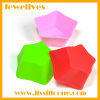 silicone 3D star shape cake cup