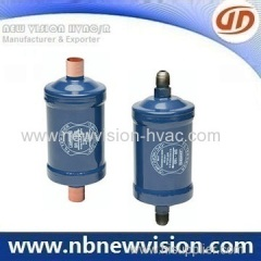Double Flow Liquid Line Filter Drier for Heating Refrigeration System