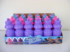 Plastic kids drinking bottle 250ml in display box packing