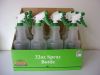 32oz garden spray bottle with printing in display box packing